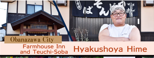 Farmhouse Inn and Teuchi-Soba Hyakushoya Hime