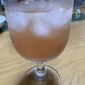 青紫蘇ジュースもついでに仕込み完了